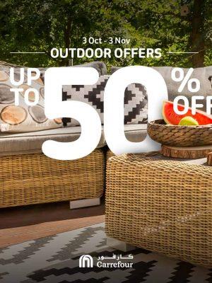 عروض الجلسات الخارجية وأثاث الحدائق – خصم لغاية 50%