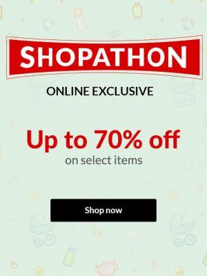 ماراثون التسوق – خصم حتى 70%