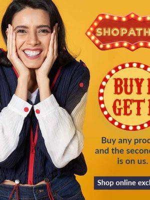 ماراثون التسوق – اشتري 1 واحصلي على 1